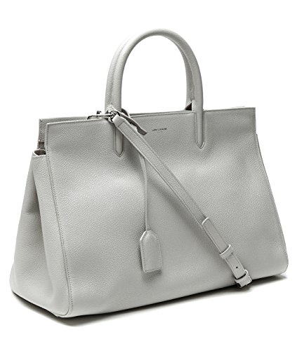 Wiberlux Saint Laurent Women's Two-Way Carry Real Leather Bag