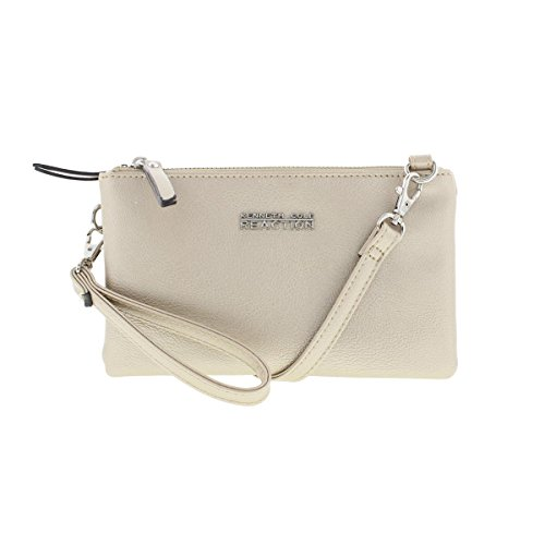 Kenneth Cole Reaction Womens Double Trouble Metallic Mini Crossbody Handbag