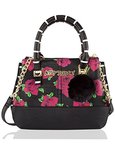 Betsey Johnson Multi Compartment Small Cross-body Satchel Bag