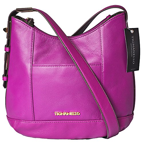Tignanello Pop Star Hobo Cross Body Purple A272719