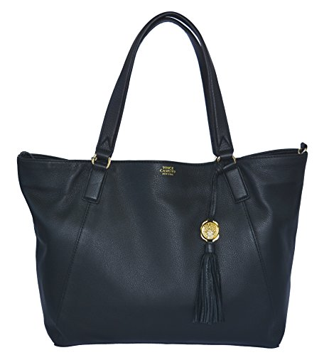 Vince Camuto Alesi Tote Handbag Purse Black Bag Handbag