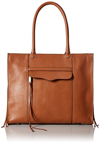 Rebecca Minkoff Side Zip Medium Mab Tote, Almond