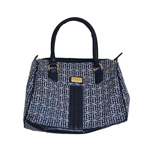 Tommy Hilfiger Purse Womens Satchel Handbag Navy