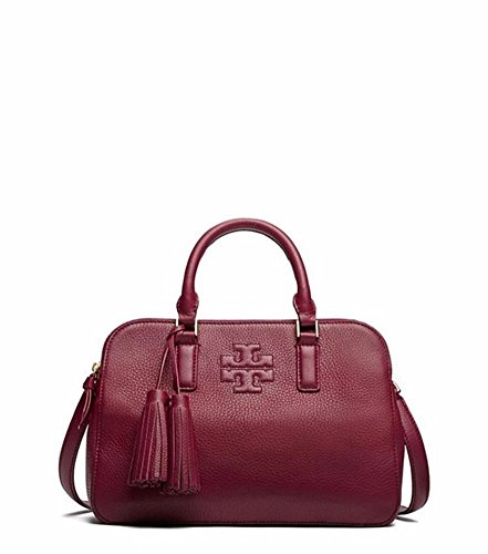 Tory Burch Thea Small Round Double Zip in Shiraz style 41159702