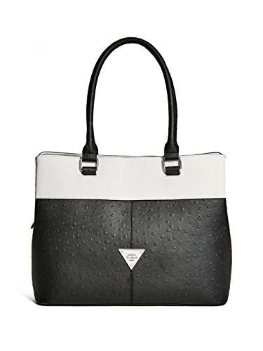GUESS Stanwood Ostrich-Embossed Satchel