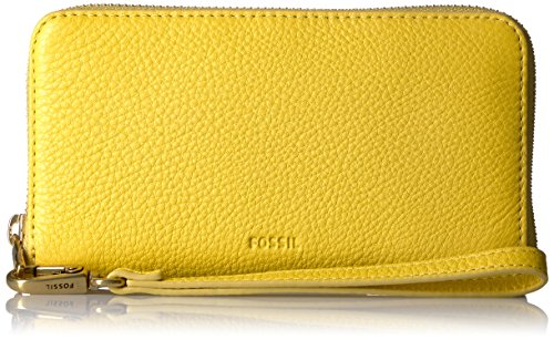Fossil Emma Smartphone Wristlet Wallet Rfid, Mimosa