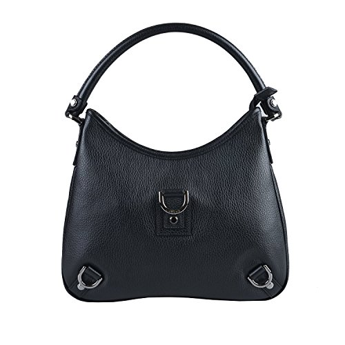 Gucci Women's Black Leather Hobo Bag