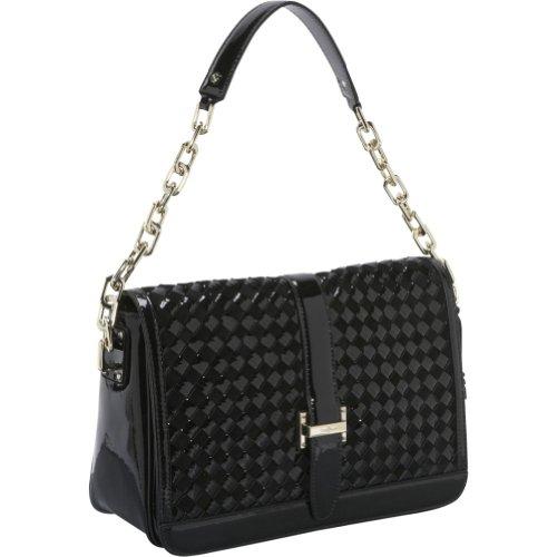 Cole Haan Heritage Weave Ava Shoulder Bag, Black
