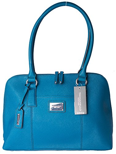 Tignanello Clean & Classic Satchel Peacock A255207