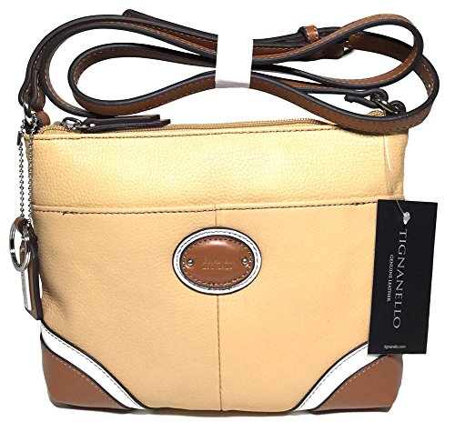 Tignanello Richmond Cross Body Dune/White/Cognac T59505A