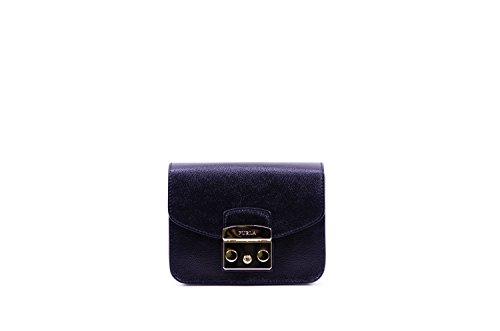Furla Women's Metropolis Mini Cross Body Bag, Onyx, One Size