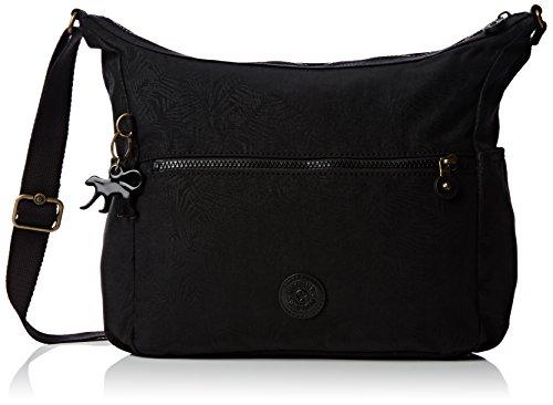 Kipling Women's Alenya Shoulder Bag Black Leaf