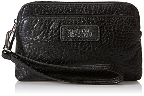 Kenneth Cole Reaction Zip Drive Cell Phone Wristlet, Black