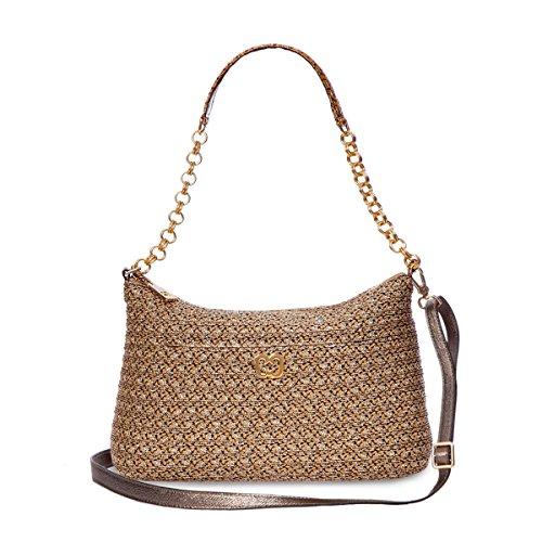 Eric Javits Women's Powchky Shoulder Handbag (Sulfate)