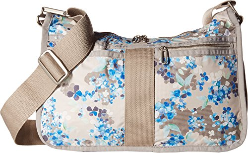 LeSportsac Women's Everyday Bag Flower Cluster Khaki Cross Body