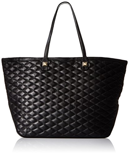 Rebecca Minkoff Quilted Everywhere Tote Bag, Black, One Size