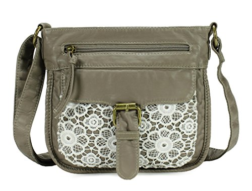 Scarleton Front Lace Crossbody Bag H1926