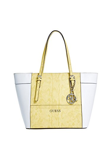 GUESS Delaney Lizard-Embossed Small Classic Tote
