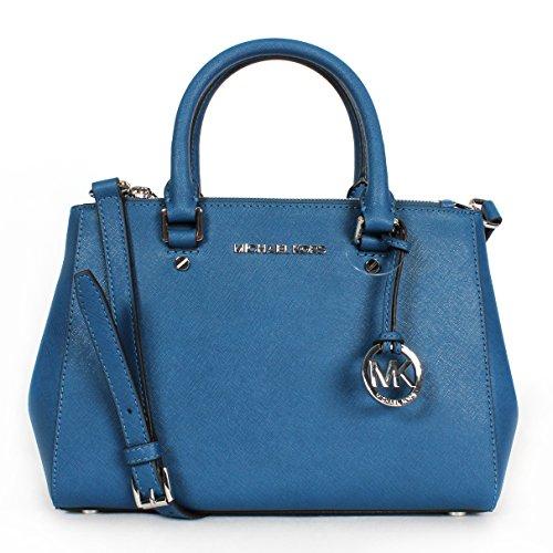 Michael Kors Sutton Small satchel Steel Blue $278.00