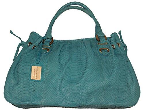 Betty Audish Genuine Python, Woman's Satchel, Clutch, Handbag, Purse and Evening Bag