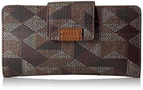 Fossil Emma Tab Wallet Rfid, Brown
