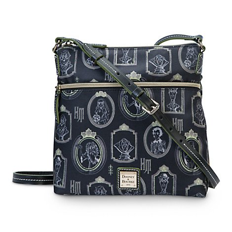 Disney Parks Dooney & Bourke The Haunted Mansion Nylon Crossbody Bag