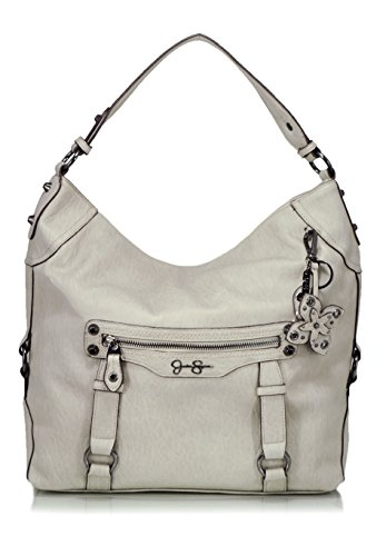 Jessica Simpson Women's Carlyn Hobo Cloud Grey Hobo