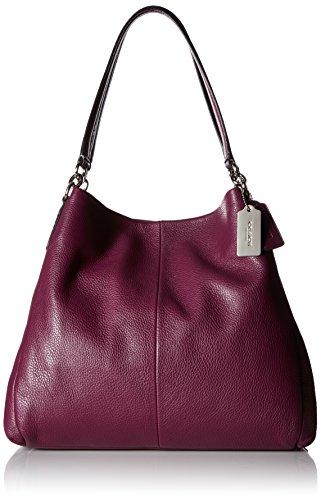 Coach Women's Phoebe Shoulder Bag, Plum