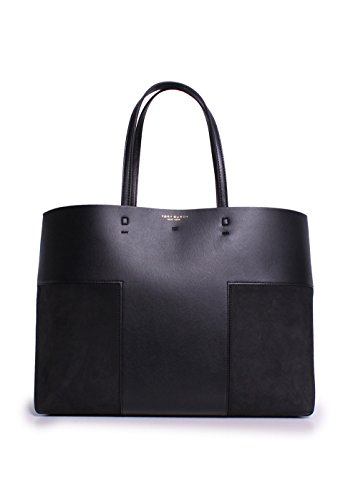 Tory Burch T-Block Tote in Black