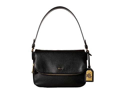 Lauren Ralph Lauren Women's Harrington Shoulder Handbag, Black
