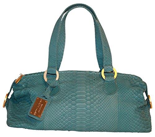 Betty Audish Genuine Python, Woman's Satchel, Clutch, Handbag, Purse