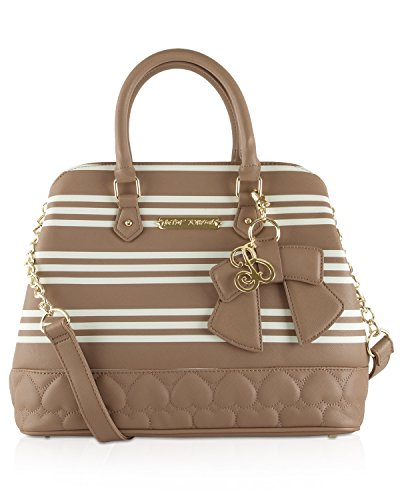 Betsey Johnson Quilty As Charged Satchel Bag