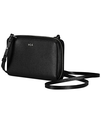 RL HB / 152 / TATE / MULTIFUNCTION CROSSBODY / BLACK-BLACK (GOLD)