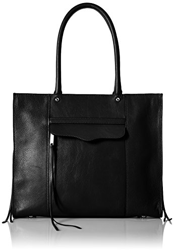 Rebecca Minkoff Side Zip Medium Mab Tote, Black