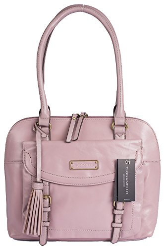 Tignanello Buckle Down RFID Shopper Mauve A269255