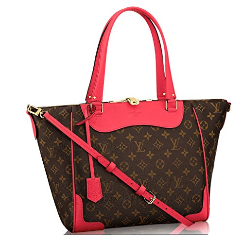 Authentic Louis Vuitton Monogram Canvas Estrela Handbag Poppy Article: M41735 Made in France