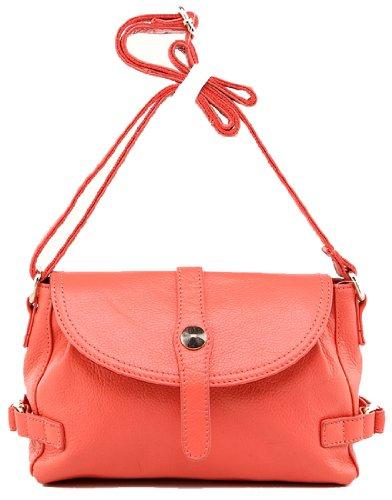 Heshe 2014 New Women's Cow Leather Soft Cross Body Shoulder Bag Satchel Shopping Handbag