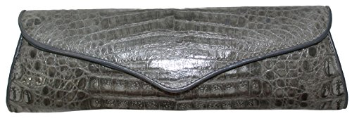 Betty Audish Genuine Crocodile, Woman's Clutch, Handbag, Purse and Evening Bag