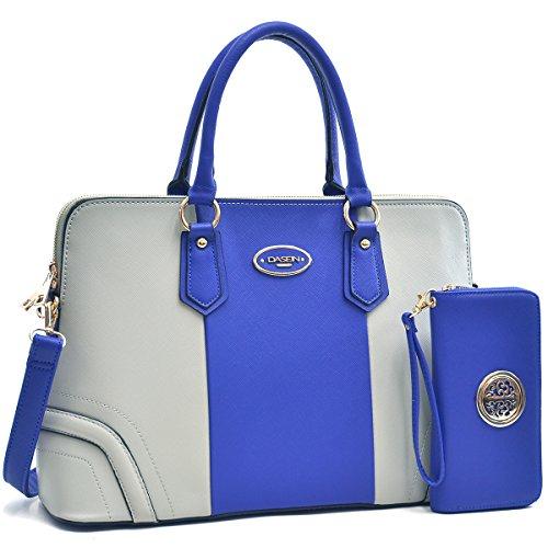 MMK collection Women Fashion Matching Satchel handbags with wallet(2597-168)~Designer Purse for Women ~ Perfect Women Purse and wallet~ Beautiful Designer Handbag Set