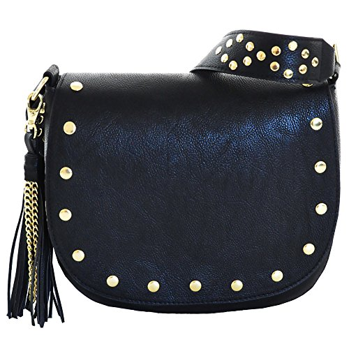 Madden Girls MGSHINE Crossbody Bag, Black