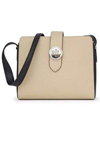 Lauren Ralph Lauren Charleston Crossbody Handbag Black
