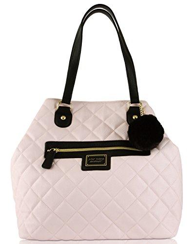 Betsey Johnson Convertible Shoppers Tote Bag