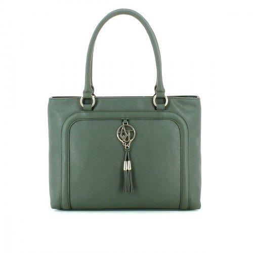 ARMANI JEANS Women's Handbag Ecosaffiano Shopping 0528L A3 6D