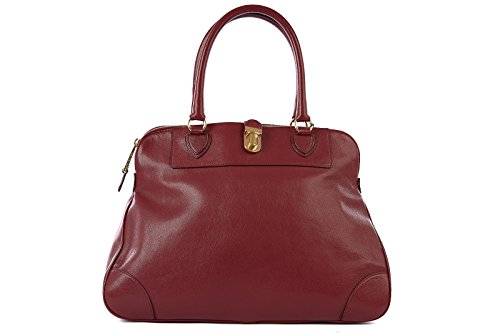 Marc Jacobs women's leather shoulder bag original tribeca bordeaux