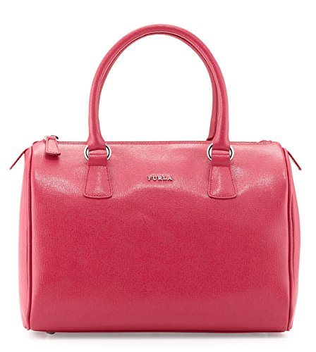 Furla D-light Leather Satchel Bag