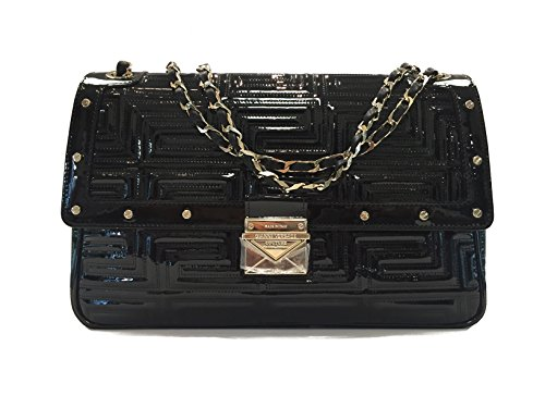 Versace Handbag Black patent Leather
