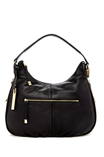 Vince Camuto Rina Leather Hobo Bag, Black