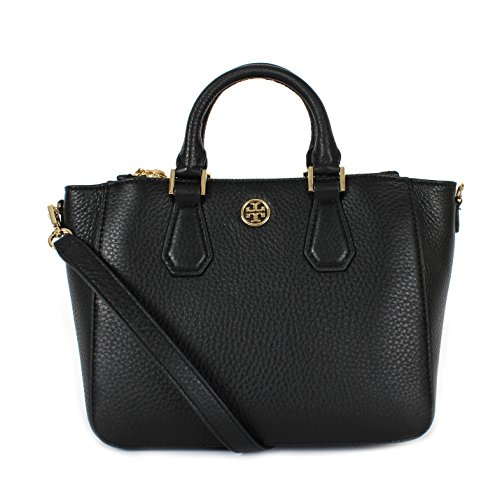 5be8d99cfc9 Tory Burch Landon Mini Square Tote Black