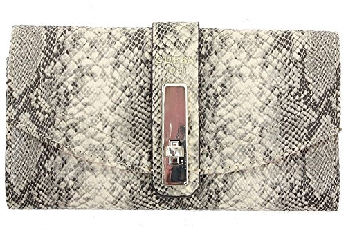 Guess Women's Kingsley Slim Tri-Fold Clutch Wallet