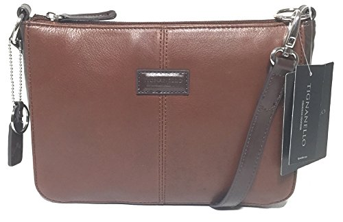 Tignanello Western Cross Body Rust/Dark Brown T58305A